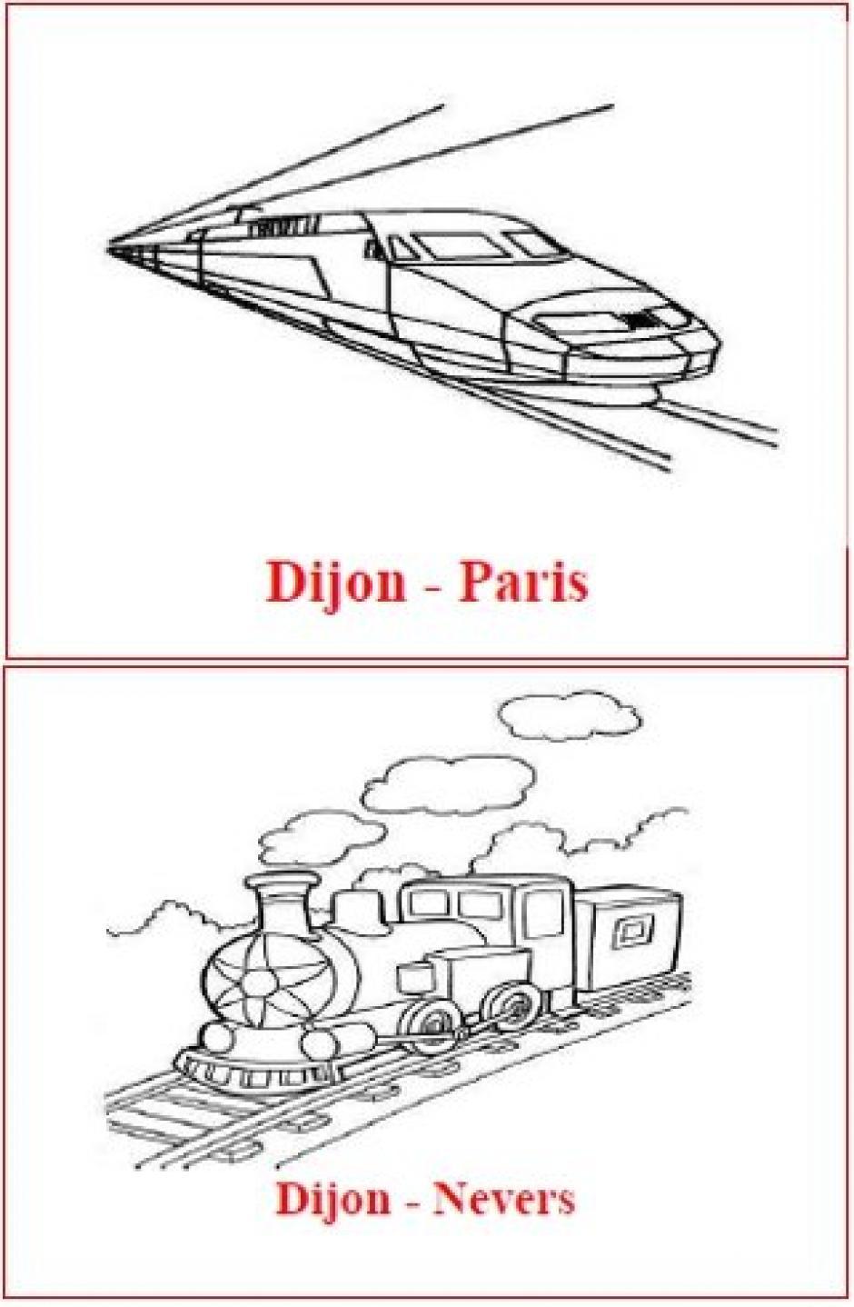 La France en train, de Nantes à Dijon… et plus loin, sans passer par Paris… Utopie ou réalité ?